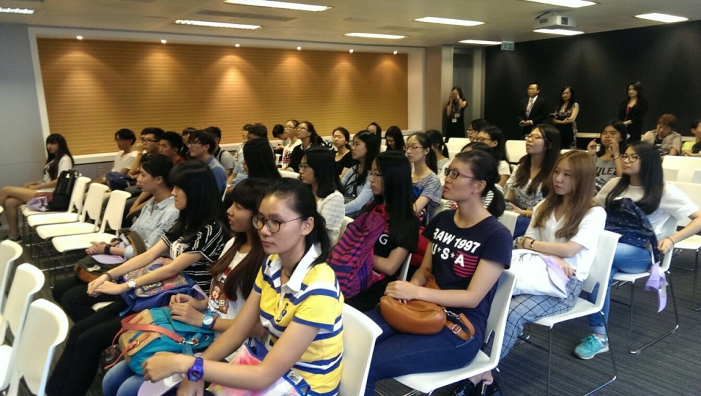 Introducing SHK Finance group of companies to the students