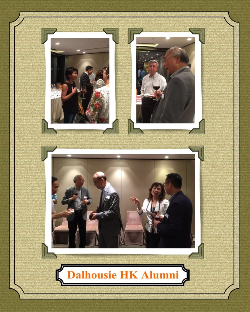 The guests from Dalhousie alumni were Peter Chow, Olivia Tsang, Luk Ming, Victor Yau, Joe Su and Sherman Cai.